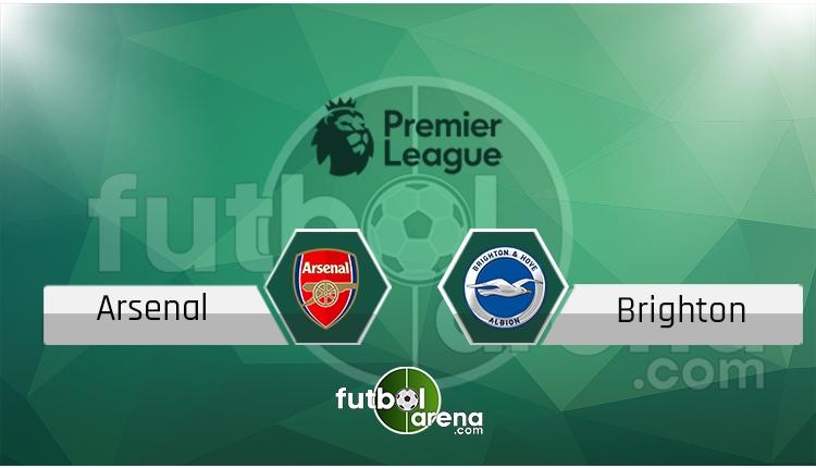 Arsenal Brighton canlı skor, maç sonucu - Maç hangi kanalda?