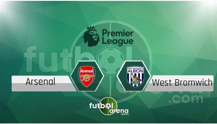 Arsenal West Bromwich canlı skor, maç sonucu - Maç hangi kanalda?