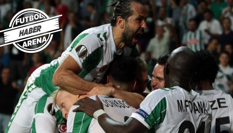 Konyaspor, Guimaraes'i yenerek Avrupa'da bir ilk yaşadı