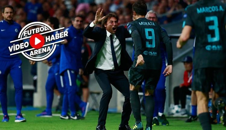 Atletico Madrid - Chelsea maçı özeti ve golleri (İZLE)