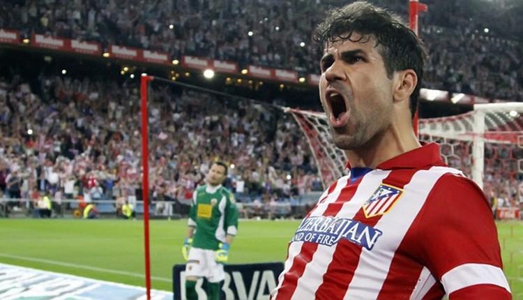Atletico Madrid, Diego Costa'yı duyurdu