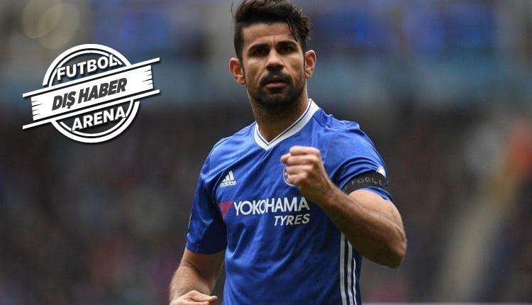 Atletico Madrid'den Diego Costa transferi için 65 milyon Euro