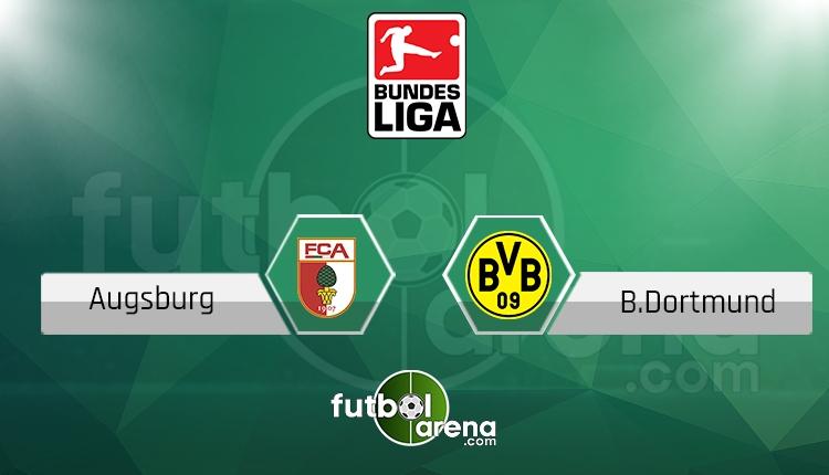 Augsburg Borussia Dortmund canlı skor, maç sonucu - Maç hangi kanalda?