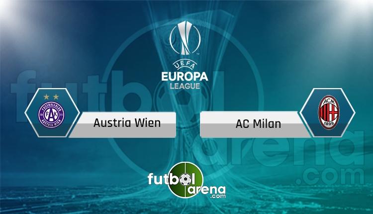 Austria Wien Milan canlı skor, maç sonucu - Maç hangi kanalda?