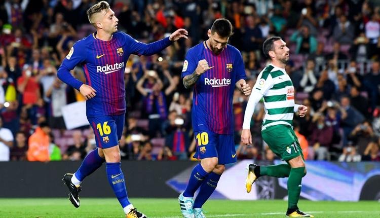 Barcelona - Eibar maçı özeti ve golleri (İZLE)