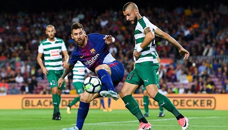 Barcelona'da Messi, Gerd Müller'in rekoruna göz dikti