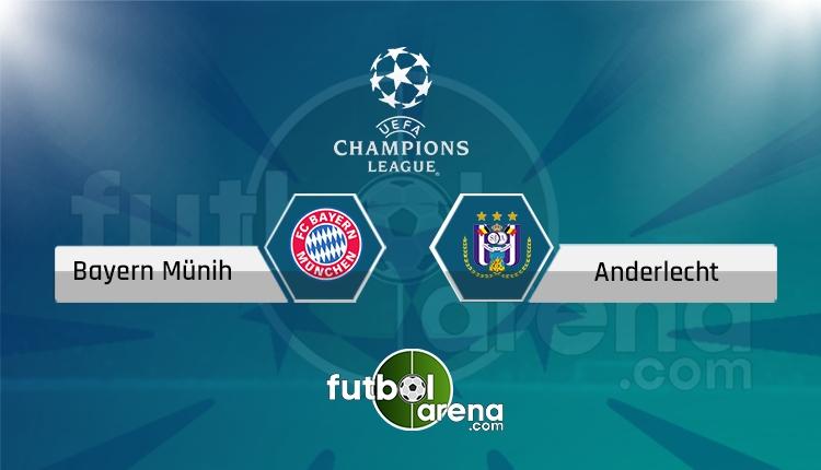 Bayern Münih - Anderlecht canlı skor, maç sonucu - Maç hangi kanalda?