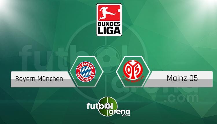 Bayern Münih Mainz canlı skor, maç sonucu - Maç hangi kanalda?