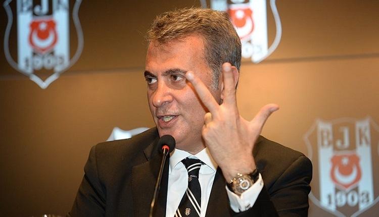 Beşiktaş Başkanı Fikret Orman'dan Mahmut Uslu'ya gönderme