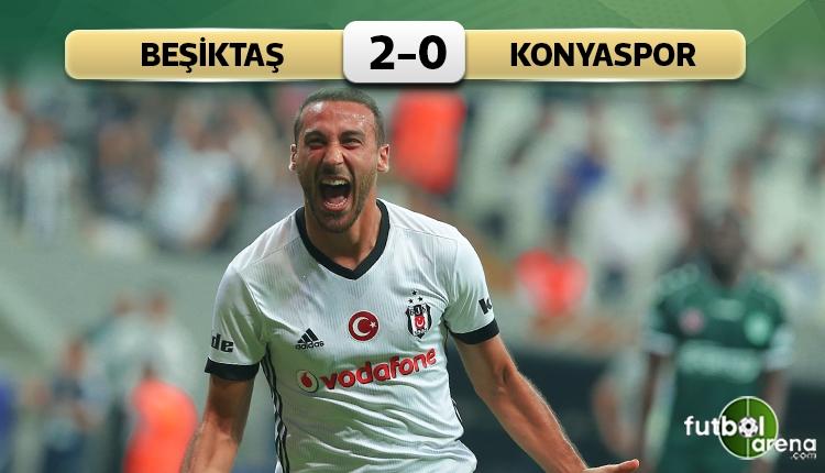 Beşiktaş 4-0 Konyaspor maç özeti ve golleri (İZLE)