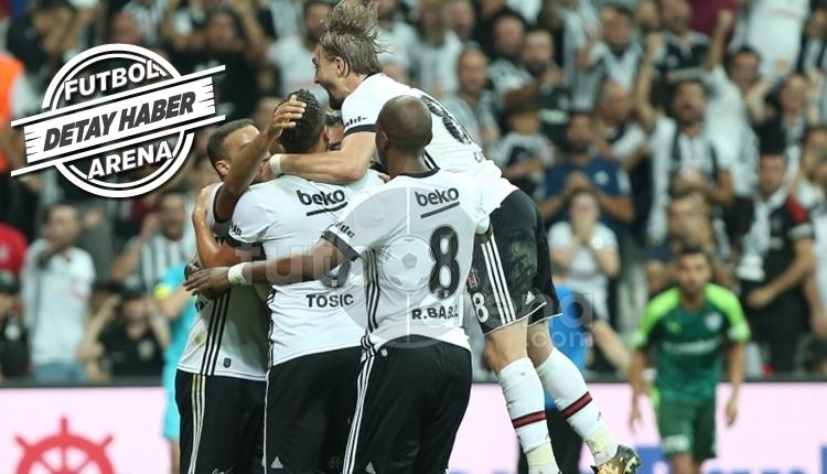 Beşiktaş golleri ilk 45 dakikada buluyor