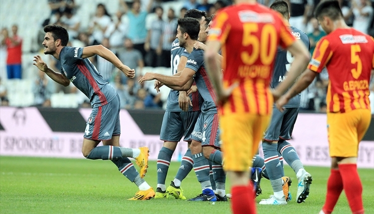 Beşiktaş - Kayserispor maçında Fatih Aksoy'un attığı gol (İZLE)