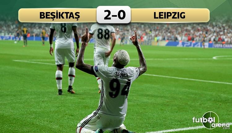 Beşiktaş 2-0 Leipzig maç özeti ve golleri (İZLE)