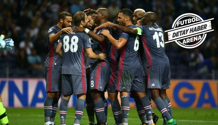 Beşiktaş, Porto'yu yenen ilk Türk takımı oldu