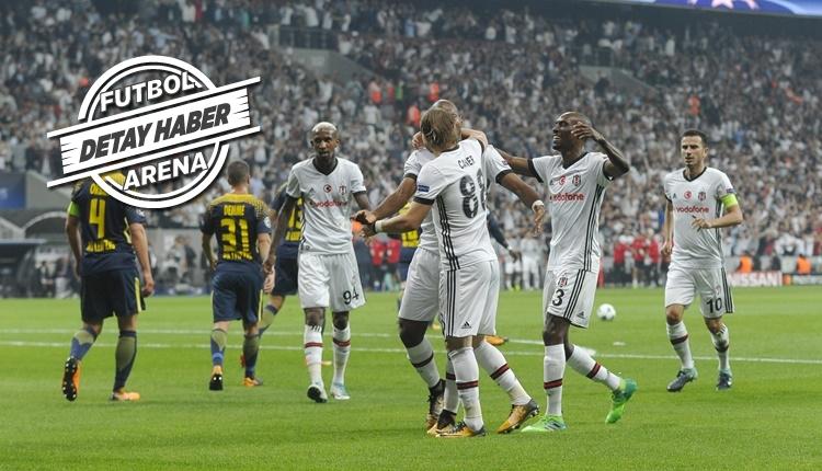 Beşiktaş, Şampiyonlar Ligi'nde tarihe geçti