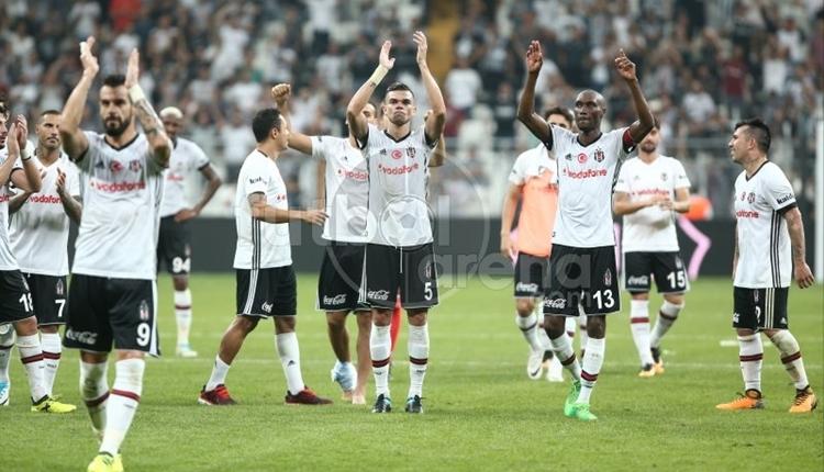 Beşiktaş, Süper Lig'de yenilmezlik serisini geliştirdi