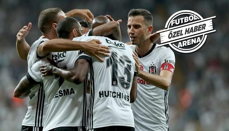Beşiktaş'ın Karabükspor maçı 11'i