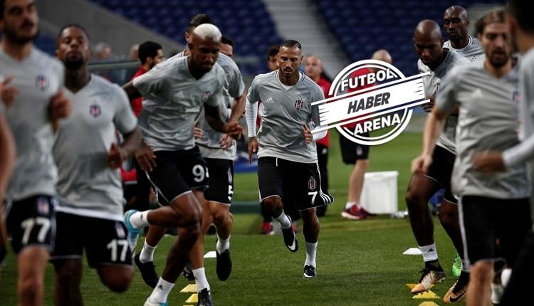 Beşiktaş'ın Porto maçındaki muhtemel 11'i