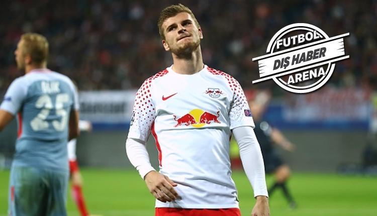Beşiktaş'ın rakibi Leipzig'in yıldızı Timo Werner'den ayrılık sinyali