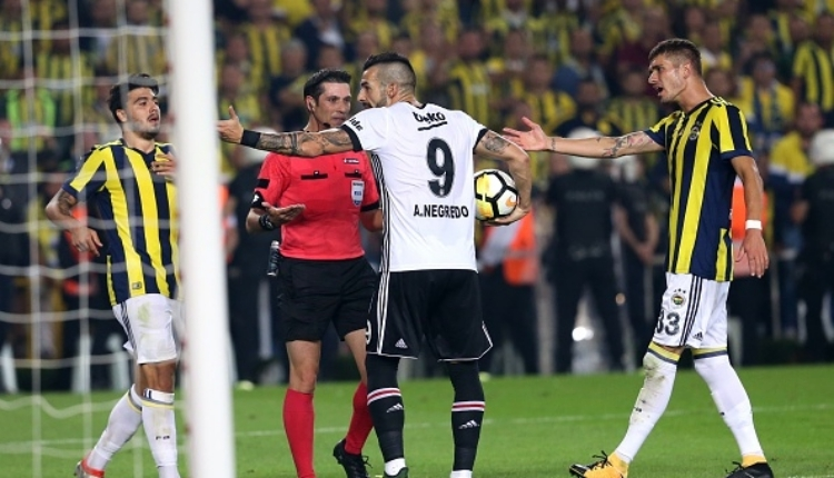 Beşiktaşlı Negredo'dan flaş Fenerbahçe açıklaması