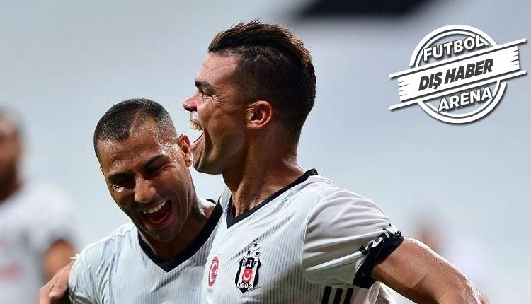 Beşiktaşlı Pepe'den taraftarlara övgü: