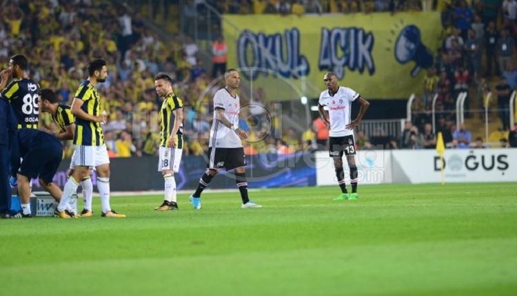 Beşiktaşlı Quaresma'ya Fenerbahçe maçında Kadıköy'de kırmızı kart şoku