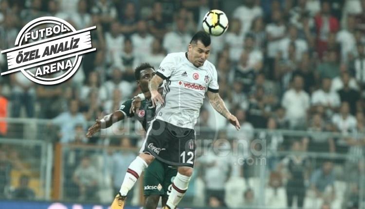 Beşiktaş'ta 1.71'lik Medel, Konya'ya hava topu vermedi