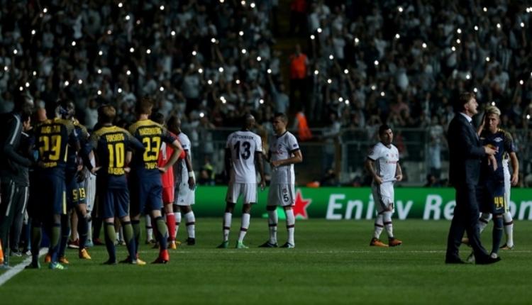 Beşiktaş'ta Alman medyasından şok suçlama ''Bilerek kestiler''