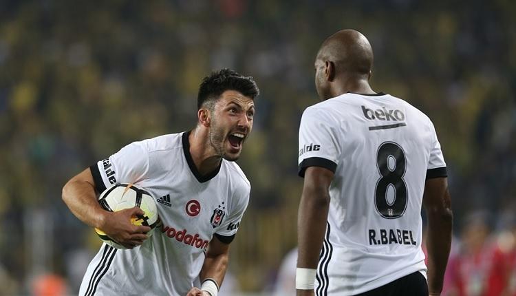 Beşiktaş'ta Babel ve Tolgay Arslan Fenerbahçe derbisinde tartıştı