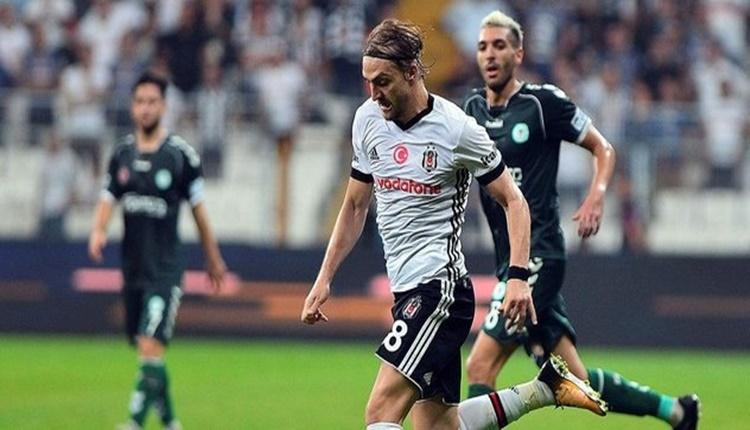 Beşiktaş'ta Caner Erkin, 4 büyüklerdeki rakiplerini solladı