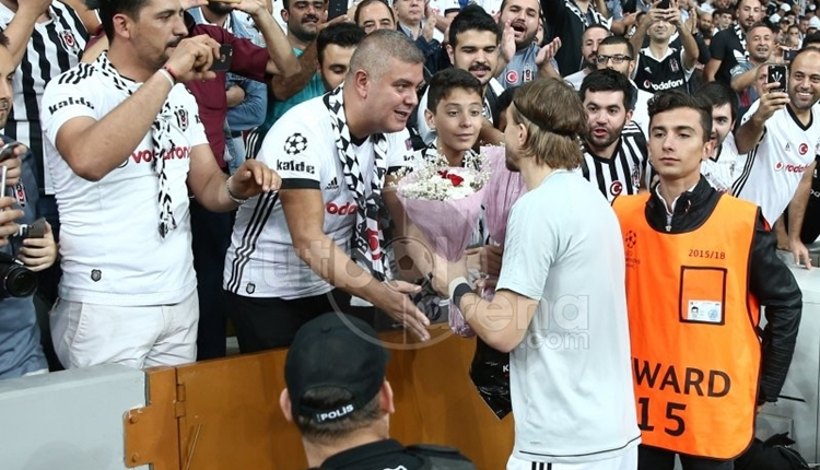 Beşiktaş'ta Caner Erkin'den duygusal paylaşım