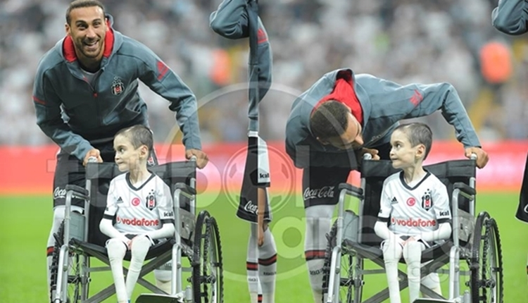 Beşiktaş'ta Cenk Tosun, Cumali'nin hayalini gerçekleştirdi