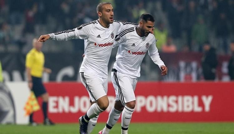 Beşiktaş'ta Cenk Tosun ve Ricardo Quaresma'nın hedefi