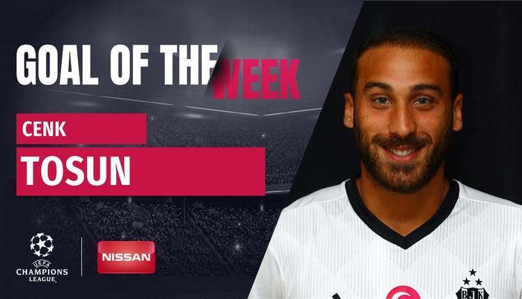 Beşiktaş'ta Cenk Tosun'un golü en iyisi seçildi