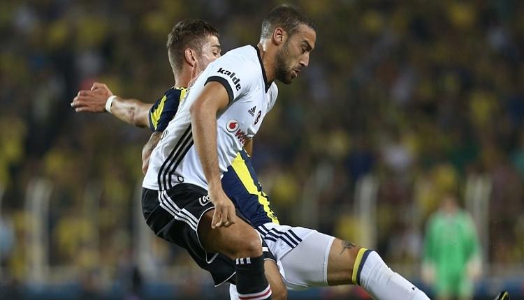Beşiktaş'ta Fenerbahçe maçında Cenk Tosun'un penaltı isyanı