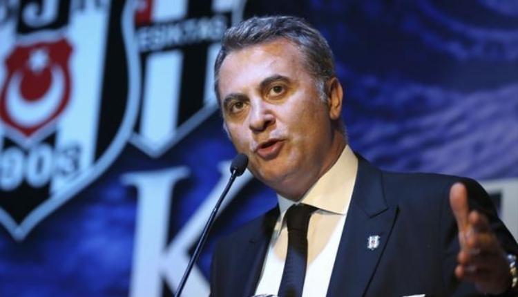 Beşiktaş'ta Fikret Orman: ''Sadece Beşiktaş'ın başarısı değil''