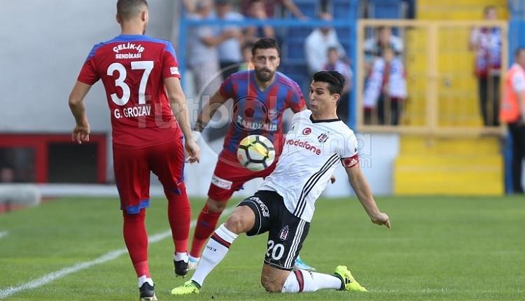 Beşiktaş'ta Necip Uysal Karabük'te yok artık dedirtti
