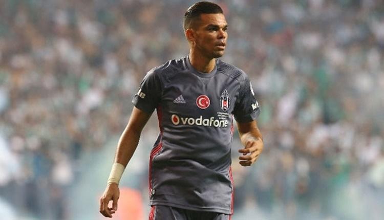 Beşiktaş'ta Pepe'nin sakatlığında son durum
