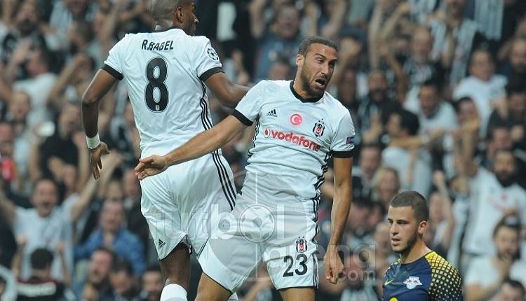 Beşiktaş'ta Ryan Babel'in Leipzig'e attığı golde Cenk Tosun'dan müthiş çalım (İZLE)