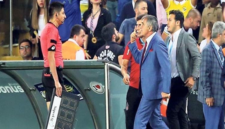 Beşiktaş'ta Şenol Güneş'in alacağı ceza