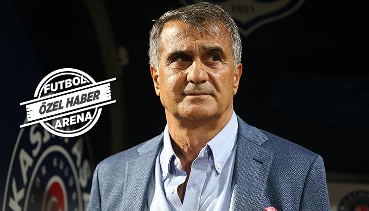 Beşiktaş'ta Şenol Güneş'in Fenerbahçe derbisi 11'i