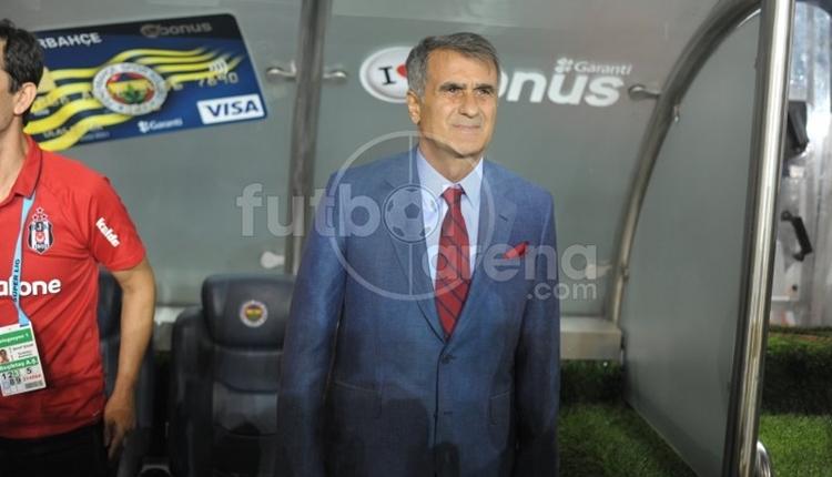 Beşiktaş'ta Şenol Güneş'in Fenerbahçe şanssızlığı