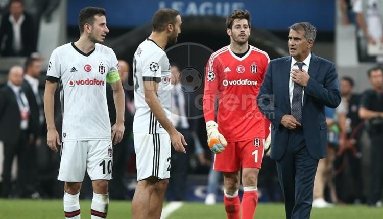 Beşiktaş'ta Şenol Güneş'in Şampiyonlar Ligi başarısı