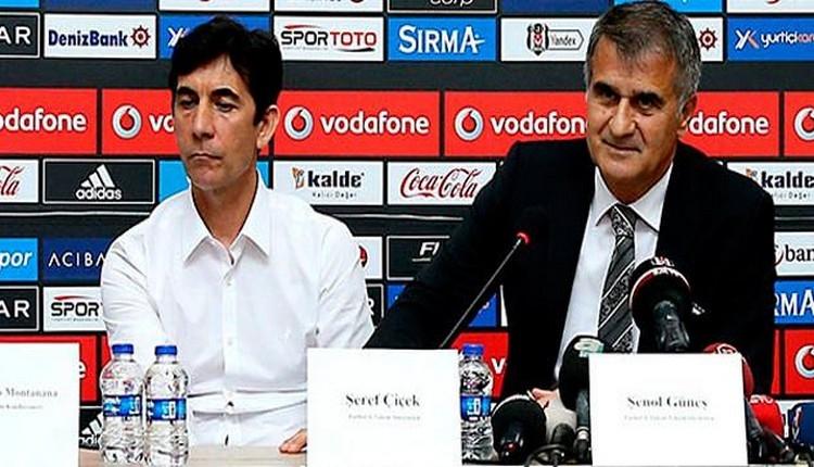 Beşiktaş'ta Şenol Güneş'in yardımcısından açıklama