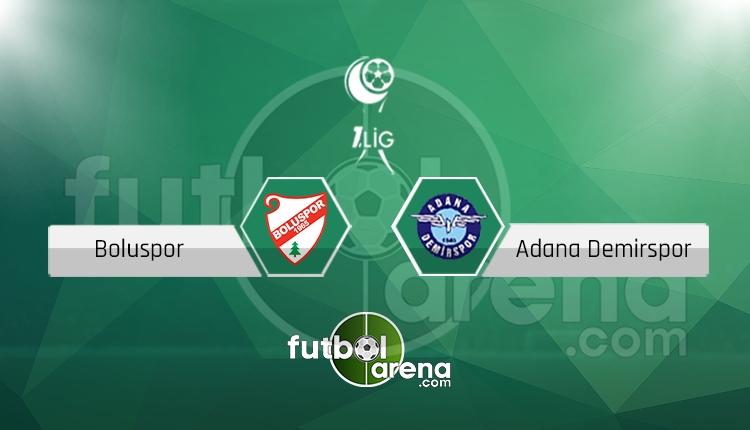 Boluspor - Adana Demirspor canlı skor, maç sonucu - Maç hangi kanalda?