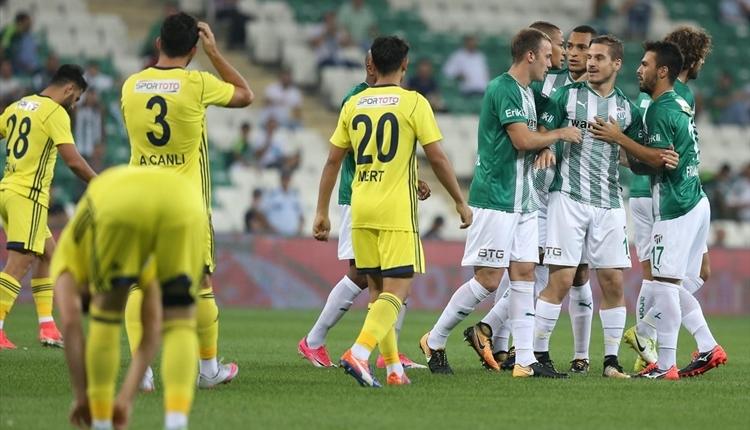 Bursaspor 4-0 Tarsus İdman Yurdu maç özeti ve golleri