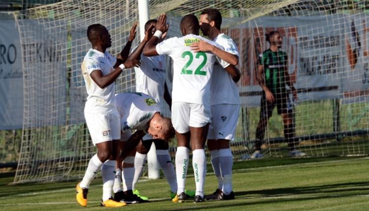 Bursaspor 4-1 Sakaryaspor hazırlık maçı özeti ve golü