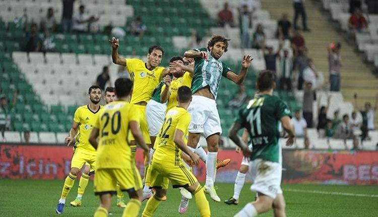 Bursaspor'da Galatasaray mesaisi devam ediyor