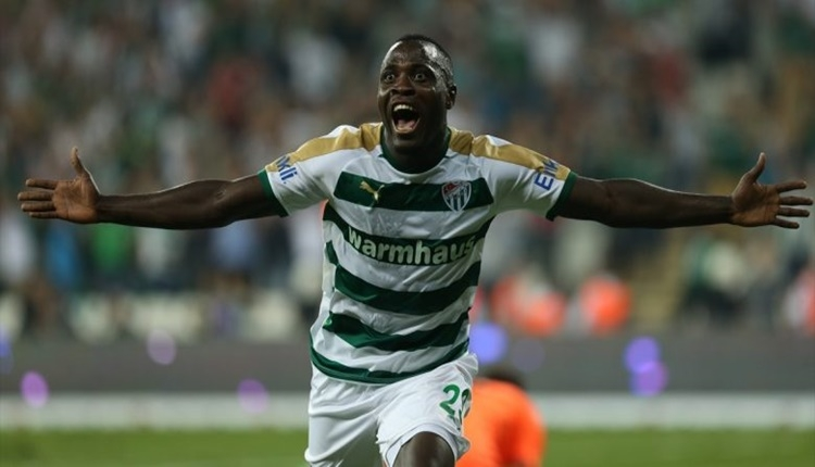 Bursaspor'da goller Dzon Delarge'den geliyor