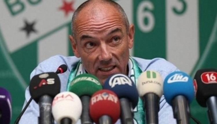 Bursaspor'da Paul Le Guen'den Tarsus İdman Yurdu maçı sözleri